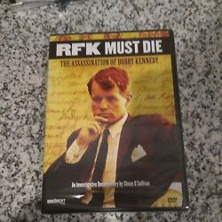 New - Rfk Must Die The Assassination Of Bobby Kennedy Dvd, 2007
