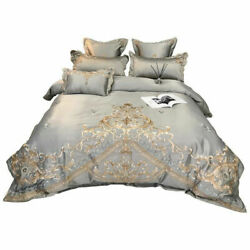 Soft Breathable Smooth Bedding Set Luxury Cover Sleeping Fashion Gifts Home