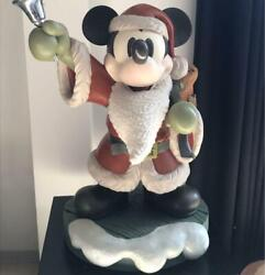 Disney Mickey Mouse Santa Christmas Big Fig Toy Figure Shipped From Japan