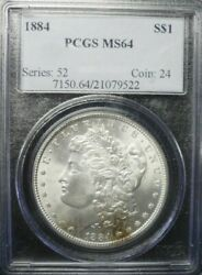 1884-p Morgan Dollar Pcgs Ms64 Dollar Prices Are Going Up