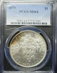 1879-p Morgan Dollar Pcgs Ms64 Dollar Prices Are Going Up