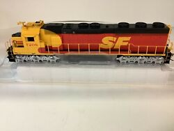 """Athearn Genesis G86203 Ho Scale Santa Fe"""" With Dcc And Sound Sd45-2 Rd. 7208"""