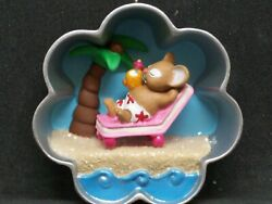 Hallmark 2013 A Tropical Holiday-cookie Cutter Christmas - Koc Event - Free Ship