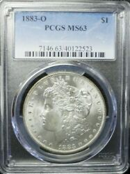 1883-o Morgan Dollar Pcgs Ms63  Dollar Prices Are Going Up