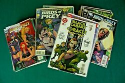 Birds Of Prey - Lot Of 115 Comics 1-127 107 Issues + Manhunt, Canary Oracle