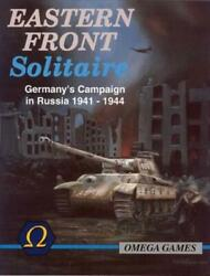 Omega Games Wargame Eastern Front Solitaire 3rd Ed Revised Vg