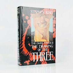 Stephen King The Drawing Of The Three - First Edition - Signed By Illustrator