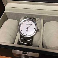 Nixon Shoot To Thrill Cannon 100m Stainless Steel Japan Movement Ladies Watch