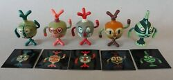 Vintage Tim Biskup's 5 Totem Pals with inserts and cartons Vanimal Zoo 2003 $116.99