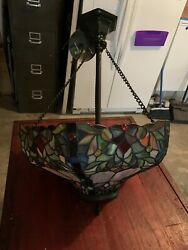 Style Stained Glass Chandelier
