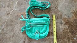 Mudd Crossbody Women#x27;s Mini Purse Turquoise Blue. Condition is quot;New with tagsquot;. $9.95