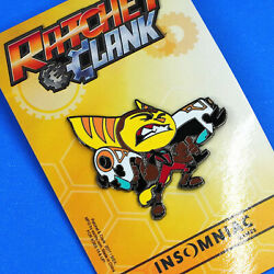 Ratchet And Clank Rift Apart Guns Limited Edition Enamel Pin Figure