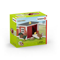 Schleich Chicken Coop [used Very Good Toy] Action Figure, Gift Set, Toy