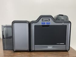 Fargo Hdp 5000 Printer Dual Side Id Card With Cleaning Packageexcellent Condit