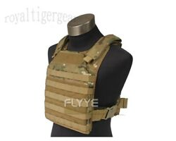 Flyye Fast Attack Plate Carrier Fapc Molle Vest - Crye Multicam A-tacs Au Fg - M