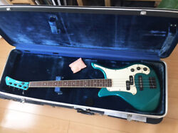 Yamaha Sbv-800mf Candy Blue Electric Bass Guitar With Hard And Soft Case