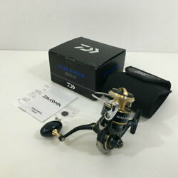 Secondhand Daiwa Saltiga 20 8000-h 00065002 Spinning Reel Angling Fishing Hh-