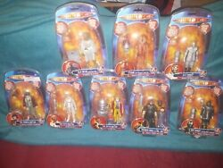Doctor Who Classics Wave 1 Action Figure Misp Full Set Collect And Build K1 Robot