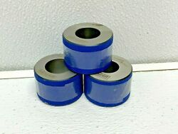 Leader Emergency Gage Pqe-712445-p3-d2-2 Bore Plug Gauge Ring Lot Of 3 New 251f