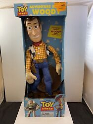 Vintage Toy Story Adventure Buddy Woody Doll 20andrdquothinkway Toys New