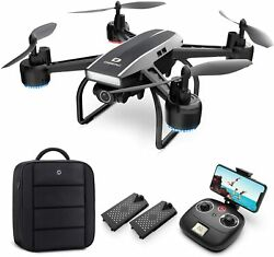 Deerc D50 2k Uhd Camera Fpv Drone With 2 Batteries And Backpack Rc Quadcopters