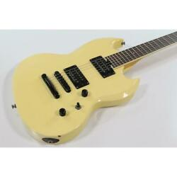 Esp Viper-220 Sl Sg Type Butter White Electric Guitar Shipped From Japan