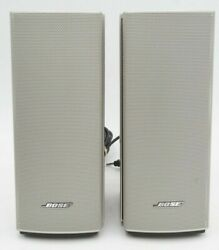 Bose Companion 20 Multimedia Speaker System Speakers Only | No Accessories Incl.