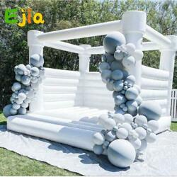 Pvc Inflatable Jumper Castle Jumping Bed Bouncy House Air Blower For Fun Outdoor