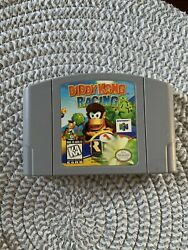Diddy Kong Racing For N64 Authentic Game Cartridge Tested And Working