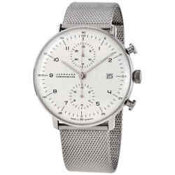 Junghans Chronograph Automatic Matte Silver Dial Menand039s Watch