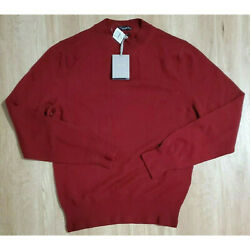 Tom Ford Mens Sweater Size 50 Cashmere Red