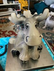Big Sky Carvers Bear Foot Moose Cookie Jar Phyllis Driscoll Excellent Condition