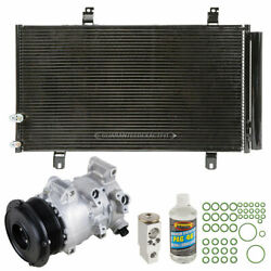 For Toyota Camry 2.4l 2007 2008 2009 Oem Ac Compressor W/ A/c Repair Kit Csw