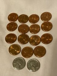 1943 1944 1958-61 1964-65 1971 S D Silver Lincoln Penny Lot