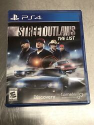 Street Outlaws The List - Sony Ps4 Racing And Workshop Game Based On The Tv Series