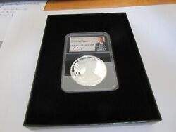 2020s S1 1st Day Of Issue Pf 70 Ultra Cameo Ngc Mint Directorand039s Series E.c. Moy