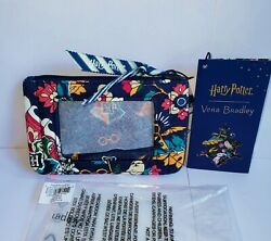 Vera Bradley Harry Potter Home To Hogwarts Zip Id Case Coin Purse Hedwig Nwt Htf