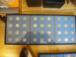 Completed With Key Dates Silver Washington Quarters Lot 1946-1959d