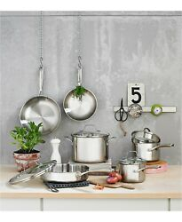 Calphalon Classic Stainless Steel 10-pc. Cookware Set - Free Shipping