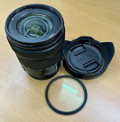 Panasonic Lumix S Series 20-60mm F/3.5-5.6 Zoom Lens For L Mount With Extras