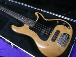 Gandl Sb-2 By Leo Natural 4 String Natural Electric Bass Guitar Shipped From Japan