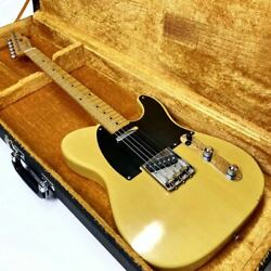 Fender Tl-52-75 1986 6 String Butterscotch Telecaster Electric Guitar With Case