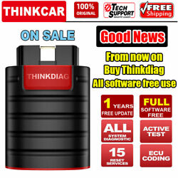 Thinkdiag Car Obd2 Scanner Bluetooth All System Abs Srs Tpms Immo Oil Reset Tool