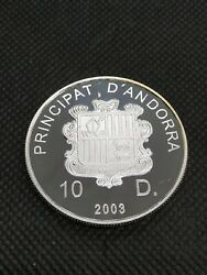 10 Diners 2003 Andorra Silver Proof Xviii World Cup Soccer 2006 Germany