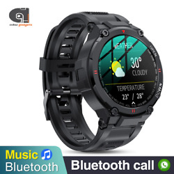 Smart Watch Rugged Military Style Outdoor Sports Heart Rate Fitness Tracker Call
