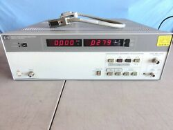 Hp 8903e Distortion Analyzer W/ Operating And Calibrating Manual And Gpib + Ac Cable