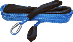 Kfi 1/4 In. X 50 Ft. Extension Rope Synthetic Blue Syn-ext-b50