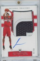 2019-20 National Treasures Rui Hachimura Patch Auto /99 Wizards Rookie Rc Read