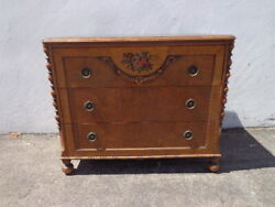 Antique Country French Dresser Table Bachelor Chest Neoclassical Furniture