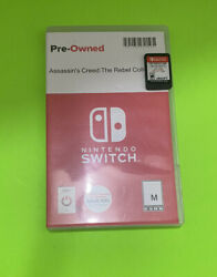 Assassinand039s Creed The Rebel Collection -nintendo Switch Cartridge Only.